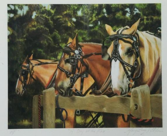 """Haddam Neck Fair Horses,"" by"