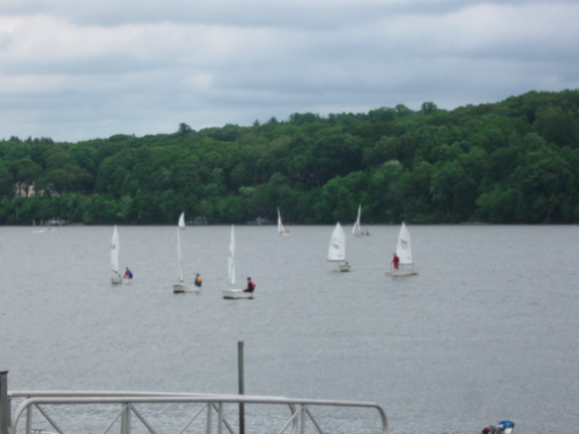 ... for sailing out on the waters of the Connecticut River.