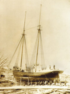 William A. Vail schooner