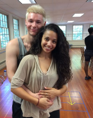 Johnny Newcomb* as Roger and Alyssa Gomez* as Mimi Marquez in 'Rent' at Ivoryton Playhouse opening Aug. 3.