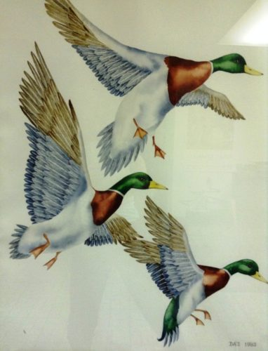 Painting by Pamela Ives Paterno, whose work will be on display at the Essex Art Association.
