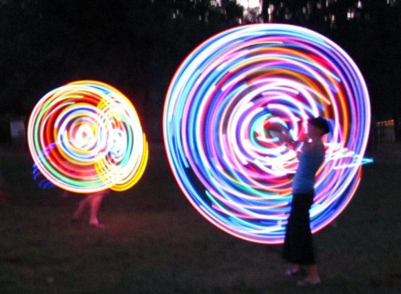Judi Ann of Dancin' with Hoops will entertain at the Ivoryton Family Festival.