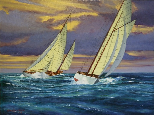 """Sailing on the Sound"" by Gary Lavarack"