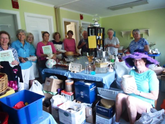Members of the Rummage Committee of The First Congregational Church in Essex at 6 Methodist Hill in Essex Village are preparing for the church's annual Rummage Sale on Oct. 15 from 9 a.m. to 2 p.m. An Early Sales night will take place on Oct. 14 from 6 to 8 p.m.