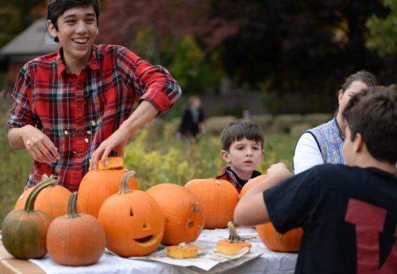 Join the fun of pumpkin carving on Oct. 22 in Ivoryton.