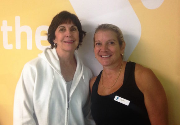 The Parkinson Disease program at the Valley Shore YMCA is led by Mary Charlton (left) and Ellen Nichele (right).