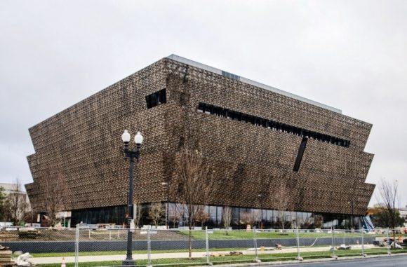 The Smithsonian's National Museum of African American History and Culture, Nov. 6, 2015. (Photo by Michael Barnes from http://newsdesk.si.edu/photos)