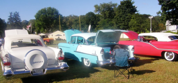 See a great variety of antique cars at Sunday's event.