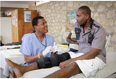 All the full-time doctors at Hospital Albert Schweitzer are Haitian.