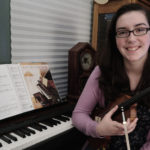 Isabelle McDonald is Community Music School's Fall 2016 Greenleaf Award Winner