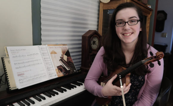 Isabelle McDonald is the winner of the recently announced Carolyn Greenleaf Award given by the Community Music School.