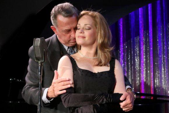 Michael Marotta and Kim Rachelle Harris in 'Tenderly: The Rosemary Clooney Musical,' which opens Wednesday at the Ivoryton Playhouse.