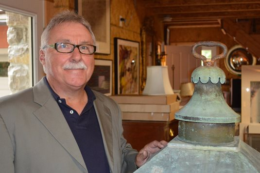Tom Perry, of One of a Kind Antiques