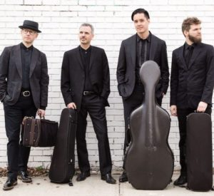 Brooklyn Rider will perform at the First Congregational Church of Old Lyme in the next Musical Masterworks concert on Dec. 3.