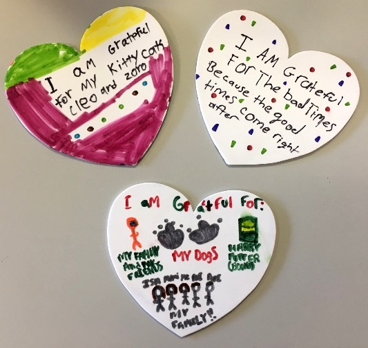 Chester's holiday tree will be decorated this year with hearts made by Chester children.
