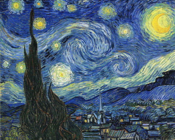 Starry Night by Vincent van Gogh (1889) is the subject of a talk by Dr. Robert Baldwin at Essex Library, Dec. 6.