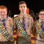 One Weekend, Three New Eagle Scouts for Chester/Deep River Boy Scout Troop 13