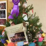 Despite Snow, Record Numbers Attend to View, Vote on Deep River Historical Society's Holiday Trees