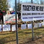 Together We Rise CT Holds a 'March For Our Lives' in East Haddam, Saturday