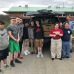 VRHS Students Present a Custom-Made Equipment Box for the Town of Essex Fire Marshal Vehicle
