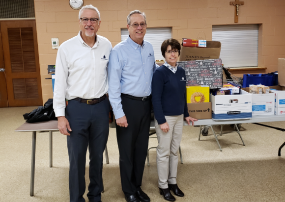 Essex Savings Bank Donates Over 700lbs Of Food To Shoreline Soup Kitchen